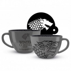 Taza Cappuccino Game Of Thrones Stark