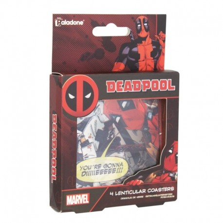 Posavasos Lenticulares Marvel Deadpool