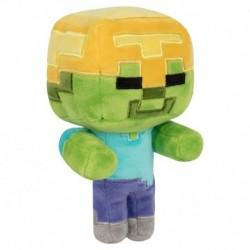 Peluche Minecraft Happy Explorer Gold Helmet