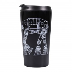 Taza De Viaje Metalica Star Wars At At Walker