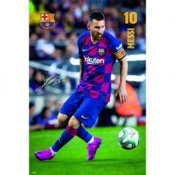 Poster Fc Barcelona 2019/2020 Messi Accion