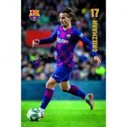 Poster Fc Barcelona 2019/2020 Griezmann Accion