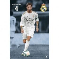 Poster Real Madrid 2019/2020 Sergio Ramos