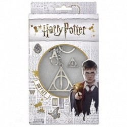 Set Llavero Y Pin Harry Potter Reliquias De La Muerte
