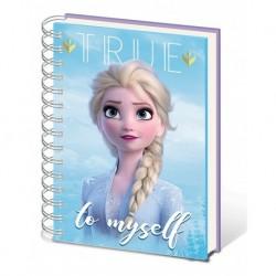 Cuaderno A5 Disney Frozen 2 Sisters