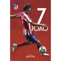 Poster Atletico De Madrid 2019/2020 Joao Felix
