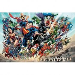 Poster Dc Comics Dc Universe Rebirth