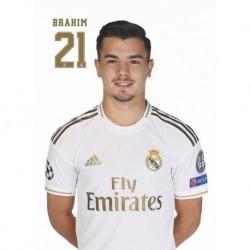 Postal Real Madrid 2019/2020 Brahim Busto