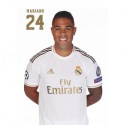 Postal Real Madrid 2019/2020 Mariano Busto
