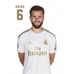 Postal Real Madrid 2019/2020 Nacho Busto