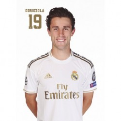Postal Real Madrid 2019/2020 Odriozola Busto