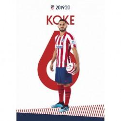 Postal Atletico De Madrid 2019/2020 Koke