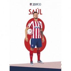 Postal Atletico De Madrid 2019/2020 Saul