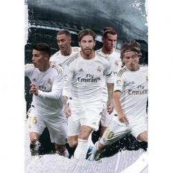 Postal A4 Real Madrid 2019/2020 Grupo