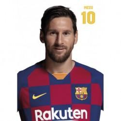 Postal A4 Fc Barcelona 2019/2020 Messi Busto