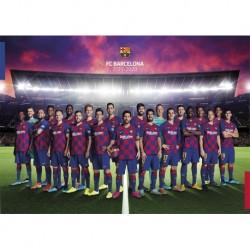 Postal A4 Fc Barcelona 2019/2020 Plantilla