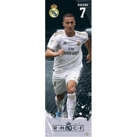 Poster Puerta Real Madrid 2019/2020 Hazard