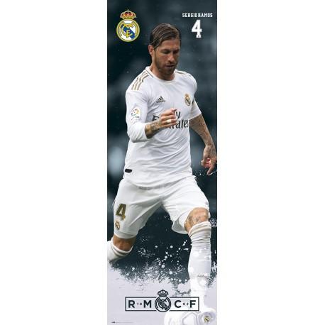 Poster Puerta Real Madrid 2019/2020 Sergio Ramos