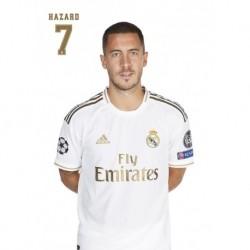 Postal A4 Real Madrid 2019/2020 Hazard