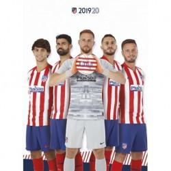 Postal Atletico De Madrid 2019/2020 Grupo