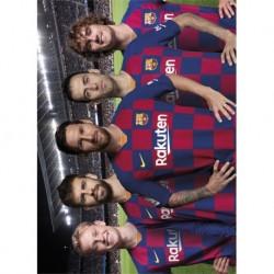 Postal Fc Barcelona 2019/2020 Grupo
