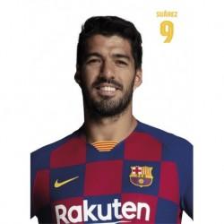 Postal Fc Barcelona 2019/2020 Luis Suarez Busto