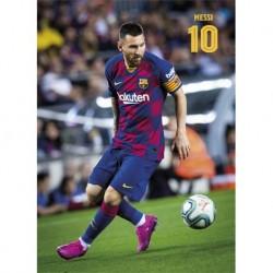 Postal Fc Barcelona 2019/2020 Messi Accion