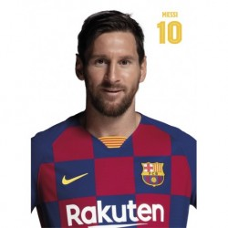 Postal Fc Barcelona 2019/2020 Messi Busto