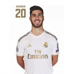 Postal Real Madrid 2019/2020 Asensio Busto