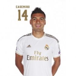 Postal Real Madrid 2019/2020 Casemiro Busto