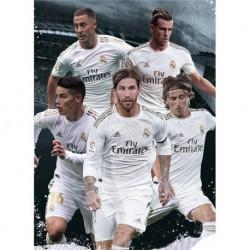 Postal Real Madrid 2019/2020 Grupo