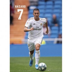 Postal Real Madrid 2019/2020 Hazard Accion
