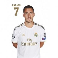 Postal Real Madrid 2019/2020 Hazard Busto