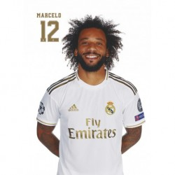Postal Real Madrid 2019/2020 Marcelo Busto