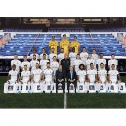 Postal Real Madrid 2019/2020 Plantilla