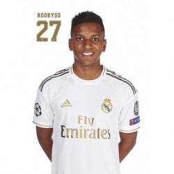 Postal Real Madrid 2019/2020 Rodrygo Busto