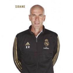 Postal Real Madrid 2019/2020 Zidane Busto