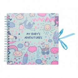 Scrapbook Album Foto 26X26Cm 40 Paginas My Babys Adventures