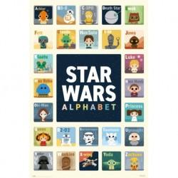 Poster Star Wars Alfabeto