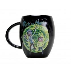 Taza Ovalada Rick & Morty Portal