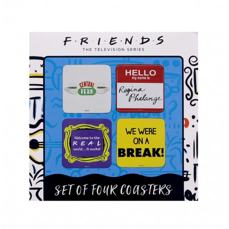 Posavasos Set De 4 Friends Quotes