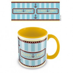 Taza Color Interno Stranger Things Scoops Ahoy