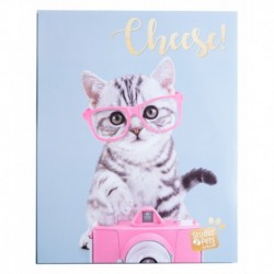 Album Foto Soft 48 Bolsillos 13X20Cm Studio Pets Cat Tabby
