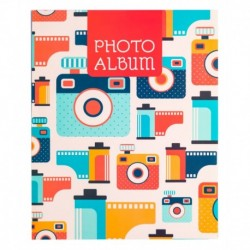 Album Foto Soft 48 Bolsillos 13X20Cm Vintage Camera