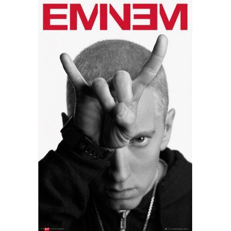 Poster Eminem Cuernos