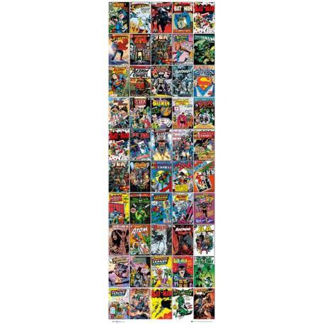 Poster Puerta DC Comics Covers