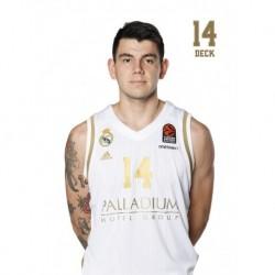 Postal Real Madrid Baloncesto 2019/2020 Deck