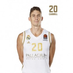 Postal Real Madrid Baloncesto 2019/2020 Carroll