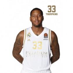 Postal Real Madrid Baloncesto 2019/2020 Thompkins III
