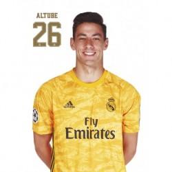 Postal Real Madrid 2019/2020 Diego Altube Suarez